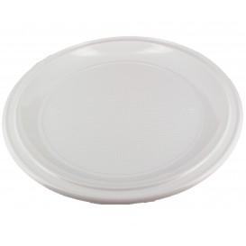 Prato Plástico Pizza  PS Branco 280 mm (400 Unidades)