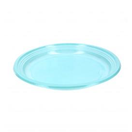 Prato Plastico Raso Ps Azul 205mm (960 Unidades)