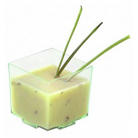 """Copo Degustação """"Water Green"""" 4,2x4,2x4,2cm (200 Uds)"""