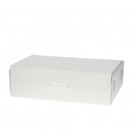 Caixa Bombons e Doces Branca 14x80x3,5cm 250g (5 Uds)