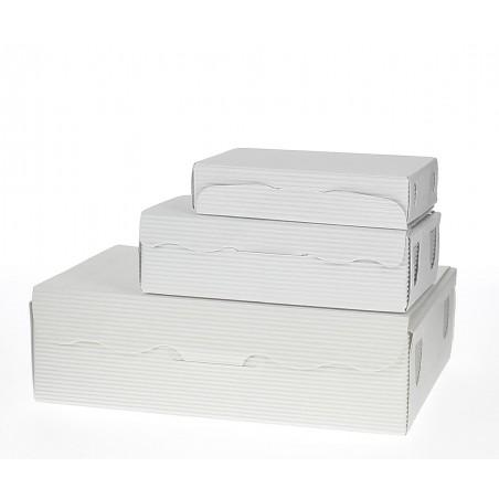 Caixa Bombons e Doces Branca 20x13x5,5cm 1000g (5 Uds)