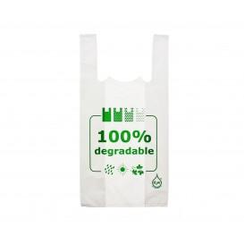 Saco Plastico Alça Degradável 100% 35x50 (5000 Uds)