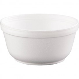 Tigela Isopor Branca 12OZ/360 ml Ø11,7cm (1000 Unidades)