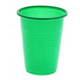 Copo de Plastico PS Verde 200 ml (24 Unidades)