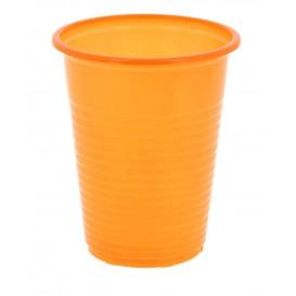 Copo de Plastico PS Laranja 200 ml (24 Unidades)