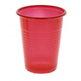 Copo de Plastico PS Vermelho 200 ml (24 Unidades)