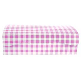 Caixa Pastelaria Rosa 18,2x13,6x5,2cm 500g (20 Uds)