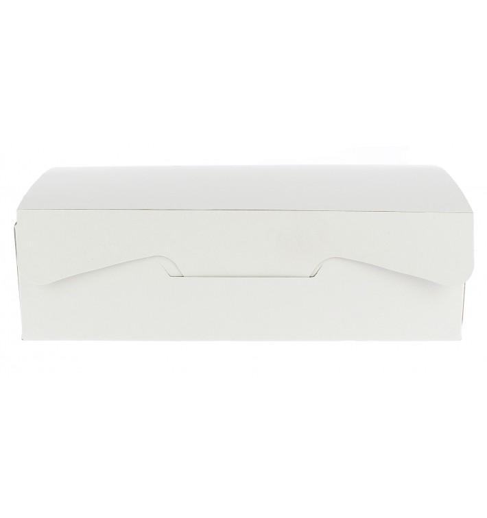 Caixa Pastelaria Branca 18,2x13,6x5,2cm 500g (20 Uds)