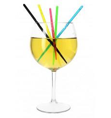 Agitador Bebidas de Plástico 175mm Fluorescente (1000 Uds)
