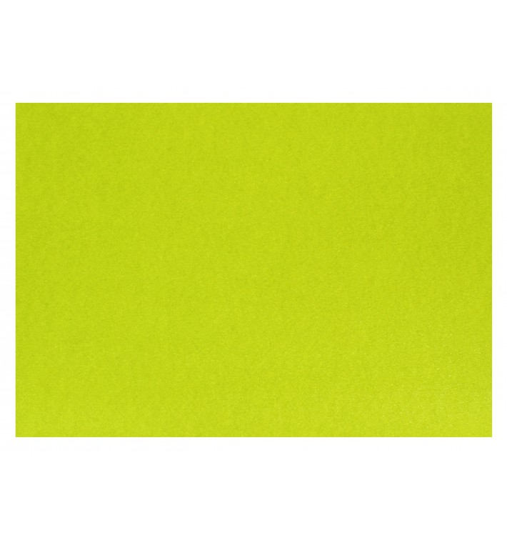Toalhete Papel Mesa 300x400mm Verde Lima 40g (1.000 Uds)