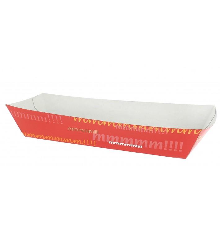 Barqueta Hot Dog 17,0x5,5x3,8cm (25 Unidades)