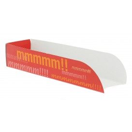 Porta Hot Dog Cartão 17x5x3,5 (1000 Unidades)