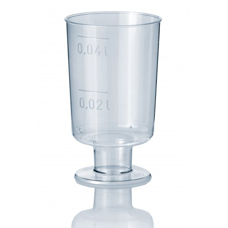Copo Cristal Licor com Pé PS 40ml (20 Unidades)