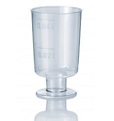 Copo Cristal Licor com Pé PS 40ml (20 Unidades)