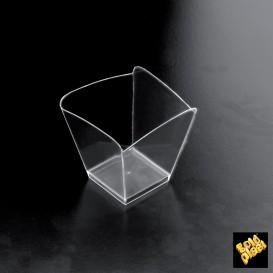 Copo Degustação Onda Transparente 100 ml (25 Uds)