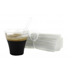 Paletina Individual Cafe 105mm Transparente (50 Uds)