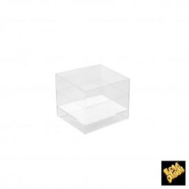 Tigela Degustação Cube Transparente 60 ml (15 Uds)