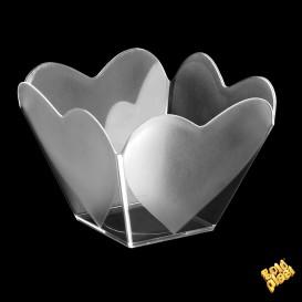 """Tigela Degustação """"Cupido"""" Transparente 68 ml (500 Uds)"""