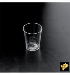 "Vaso de licor Plastico ""Conical"" Transparent 50 ml (25 Unidades)"