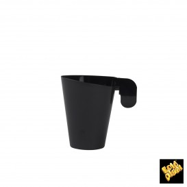 Chavena Plastico Café Design Preto 72ml (12 Uds)
