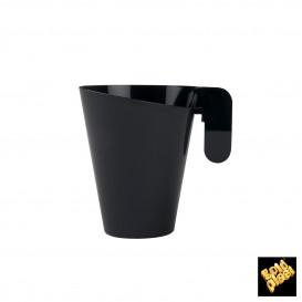 Chavena Plastico Design Preto 155ml (144 Uds)