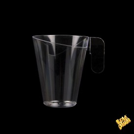 Chavena Plastico Design Transparente 155ml (144 Uds)