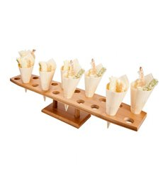 Stand de Bambu para 20 Cones (1 Uds)