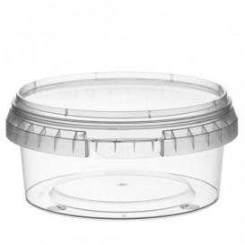Embalagem Plastico Com Tampa Inviolável 300ml Ø11,8 (34 Uds)