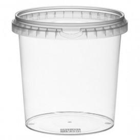 Embalagem Plastico Com Tampa Inviolável 1180ml Ø13,3 (18 Uds)