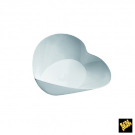 Tigela Degustação Plastico Lovers Branco 30ml (25 Uds)
