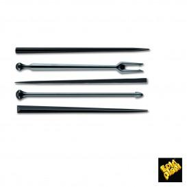 Pick de Plastico Snack Stick Preto 90 mm (1650 Unidades)