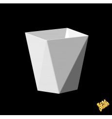 Copo Degustação Diamond  branco 100 ml (500 Uds)