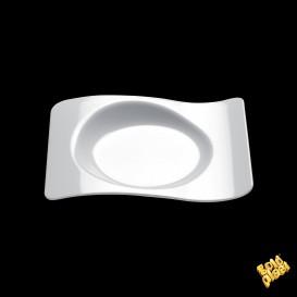 Prato Degustação Forma Branco 8,0x6,6 cm (50 Uds)