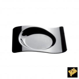 Tigela Degustação Forma Preto 8x6,6cm (50 Unidades)