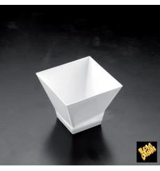 Copo Degustação Pagoda Branco  65ml (500 Uds)