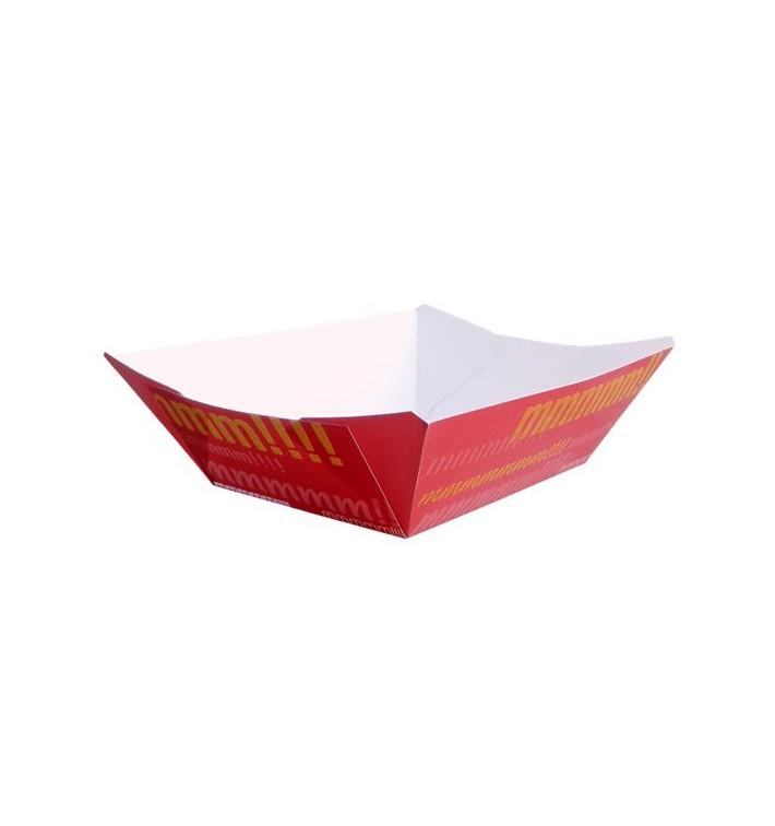 Barqueta Cartolina 10,6x7,3x4,5cm 350ml (50 Uds)