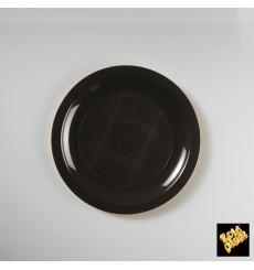 Prato Plastico Raso Branco Ø185mm (50 Uds)