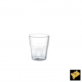 Copo Plastico para Shot Transp. PS Ø40mm 30ml (50 Uds)