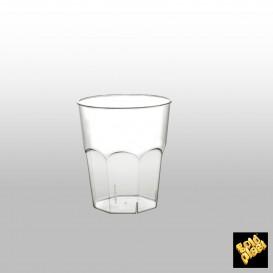 Copo Plastico para Coctel Transp. PS  Ø73mm 200ml (500 Uds)