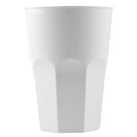 Copo Plastico para Coctel Branco PP Ø84mm 350ml (200 Uds)