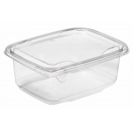 Tigela de Plastico Inviolável PET 1000ml 180x140x70mm (65 Uds)
