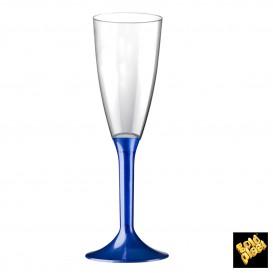 Copo PS Flute Champanhe Azul Perlé 120ml (20 Uds)
