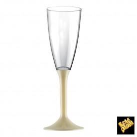Copo PS Flute Champanhe Creme 120ml (200 Uds)