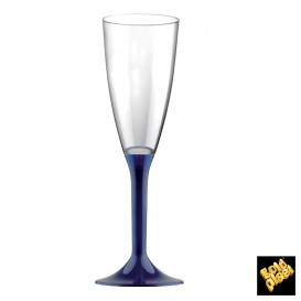 Copo PS Flute Champanhe Azul 120ml (20 Uds)