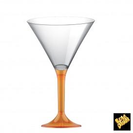 Copo PS Flute Cocktail Laranja Transp. 185ml (20 Uds)