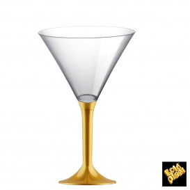 Copo PS Flute Cocktail Ouro 185ml (20 Uds)