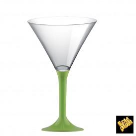 Copo PS Flute Cocktail Verde Limão 185ml (200 Uds)