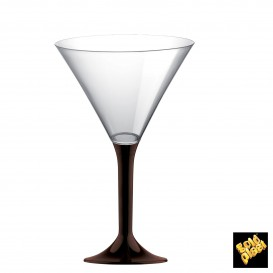 Copo PS Flute Cocktail Marrom 185ml (200 Uds)
