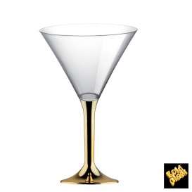 Copo PS Flute Cocktail Ouro Cromo 185ml (200 Uds)