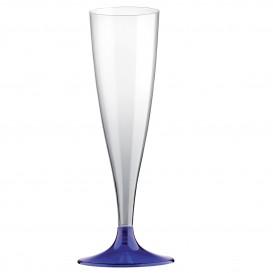Copo PS Flute Champanhe Azul 140ml (400 Uds)